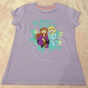 Disney frozen 2 shirt size large